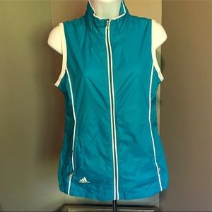 Adidas Golf ClimaProof Zip Front Athletic Vest XS